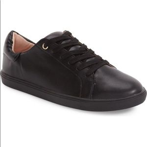 Topshop Black Catseye Sneakers